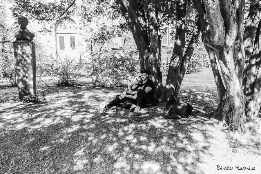 Cosy Couple StreetPhoto © Birgitta Rudenius