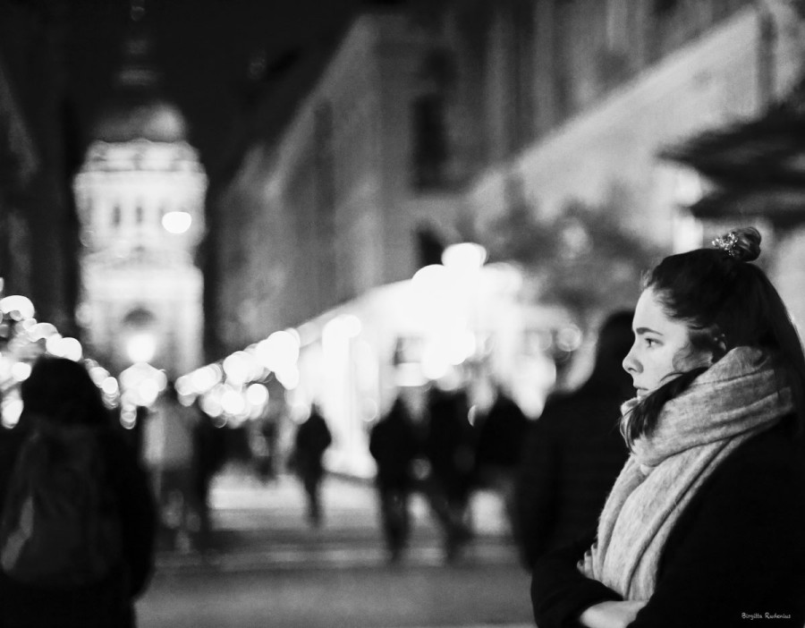 Street Photo - Silent Church.