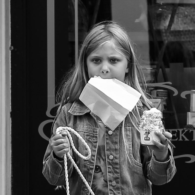 Street Photo - Focusing