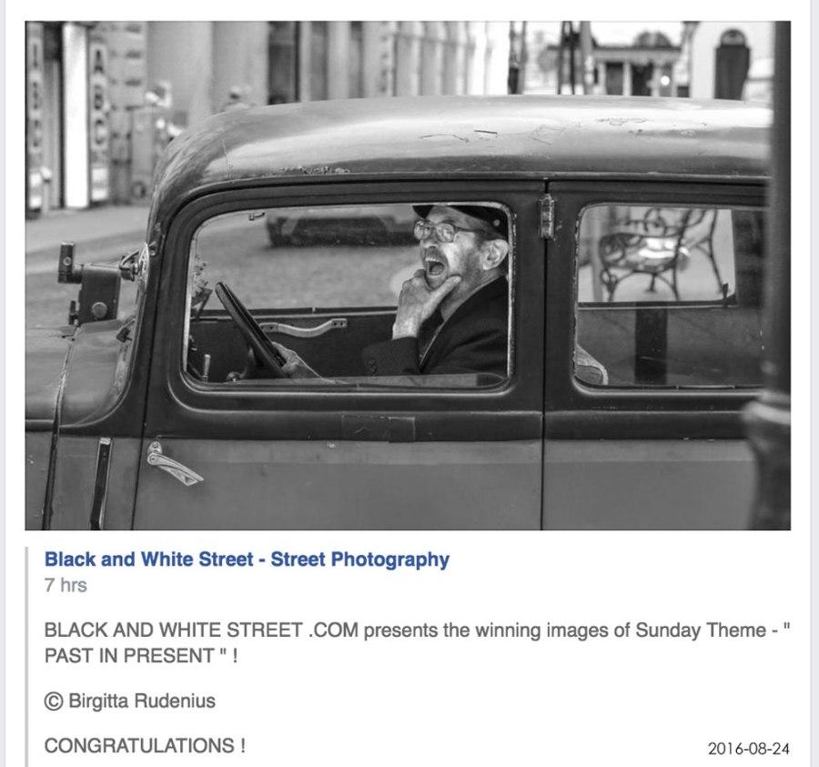 Street Photography - Past in Present Winner